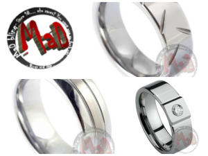 Metal Tungsten Rings