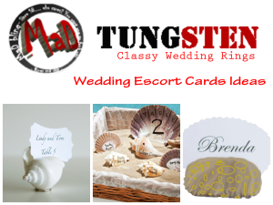 wedding escort ideas