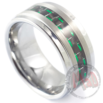 Dirty Sanchez Tungsten Carbide Ring