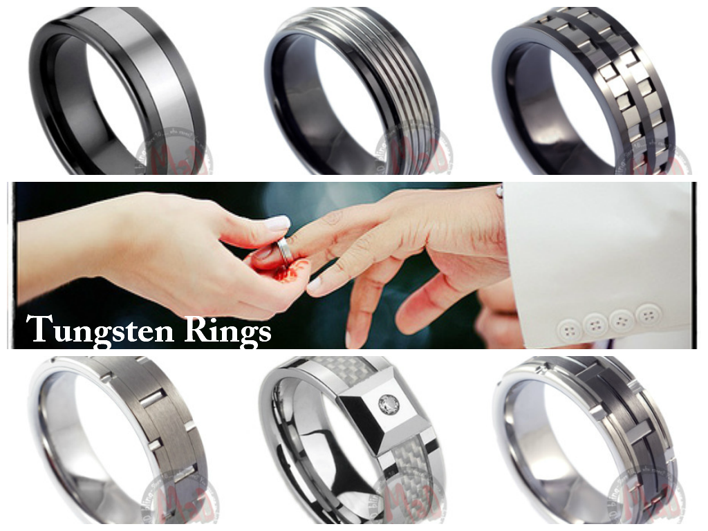 Technology used in making Tungsten Carbide Rings