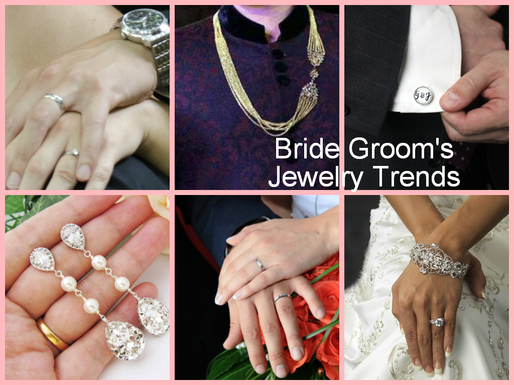 Bride Groom's jewellery Trends